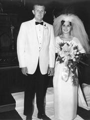 Paul and Judy Hatcher were married on June 18, 1966.