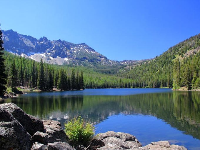 No. 1: Backpacking the Strawberry Mountain Wilderness. Strawberry Lake is the centerpiece of the Strawberry Mountain Wilderness.