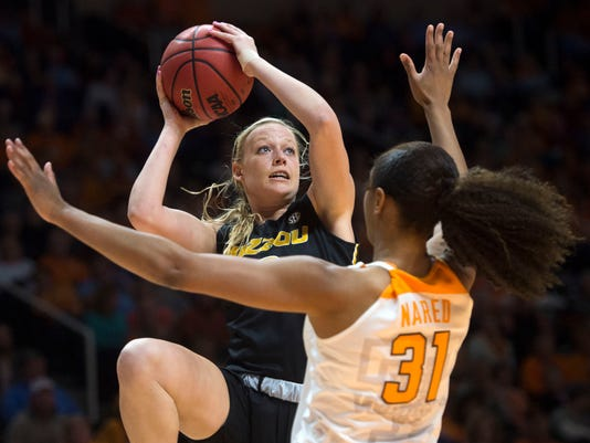 NCAA Women's Basketball Missouri at Tennessee