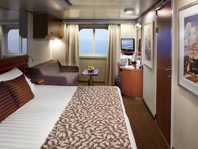 Holland america line announces name of new ship for Another name for balcony