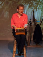 """Karen Lefkoe performs the lead role of Vivienne Avery in the Vermont Stage production of """"Blackberry Winter."""""""
