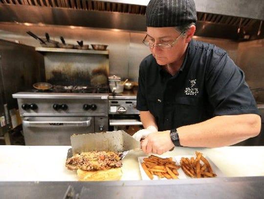 Gail Huesmann, executive chef at Black Marlin Bar and