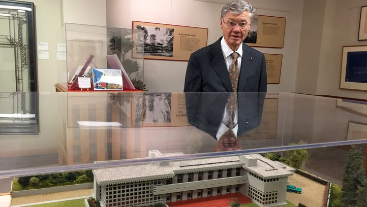Worth the trip: Tom Monaghan's Frank Lloyd Wright collection on display at Domino's Farms