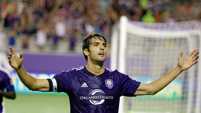 Orlando City's Kaka is back from a thigh injury.