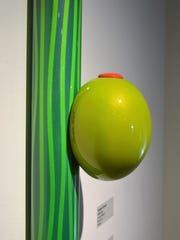 """""""Oversized olive and swizzle stick,"""" by George Snyder."""