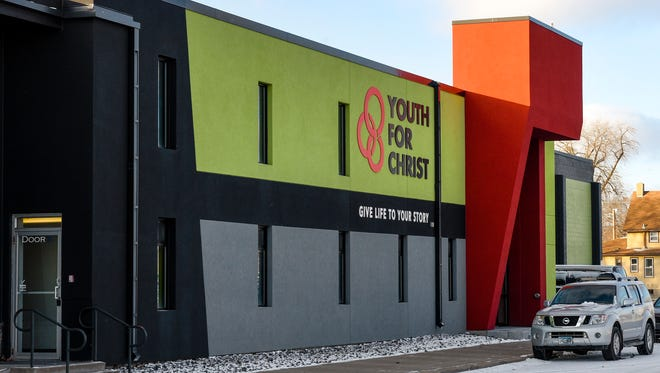 The Rotary Clubs of the greater St. Cloud area, in partnership with HOPE 4 Youth, plan to open a youth opportunity center called Pathways 4 Youth in February in the Youth for Christ building, shown Dec. 5, at 203 Cooper Avenue N.
