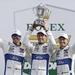 Scott Dixon leads Ganassi team to Rolex win