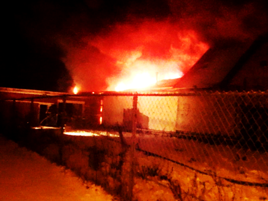 The Jan. 9 fire at 488 Joseph Ave. in Rochester heavily damaged a storage building attached to a grocery store.