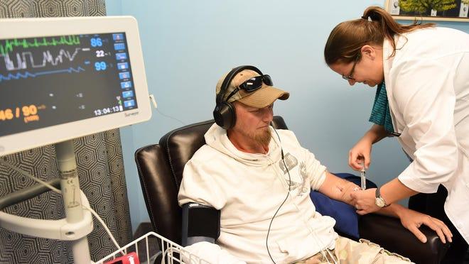 Troy McLaughlin said ketamine treatment for his severe depression at Michigan Progressive Health in Royal Oak saved his life.