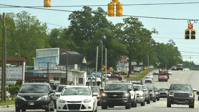 The long-awaited Hampstead bypass project is included in the Cape Fear Moving Forward 2045 transportation plan.