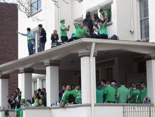 St Patricks Day House Party - Robert K O'Daniell AP