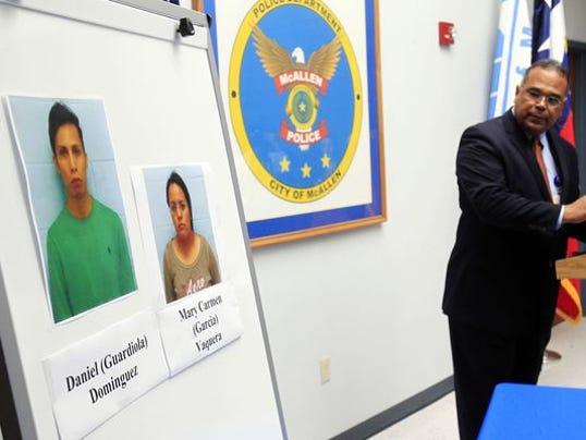 McAllen Texas police chief Victor Rodriguez discusses frau CC case - Gabe Hernanez AP