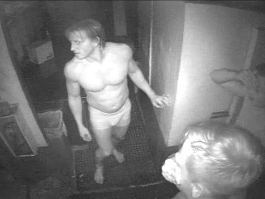 Naked burglars