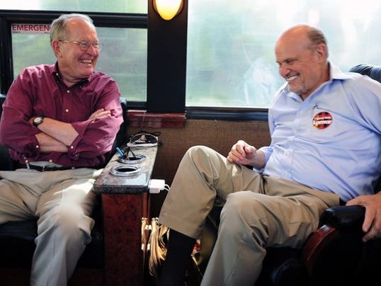 FRED AND LAMAR ARE ON THE ROAD AGAIN.