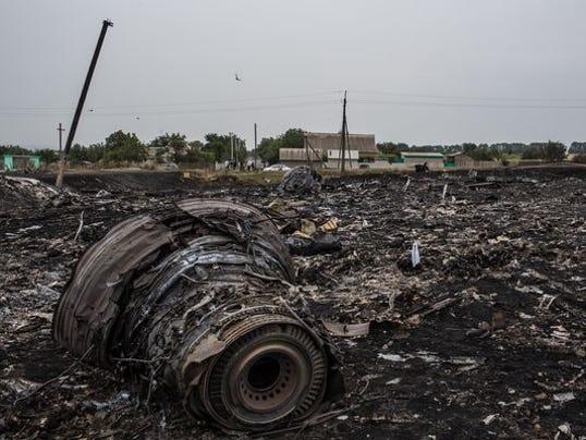 Air Malaysia plane shot down