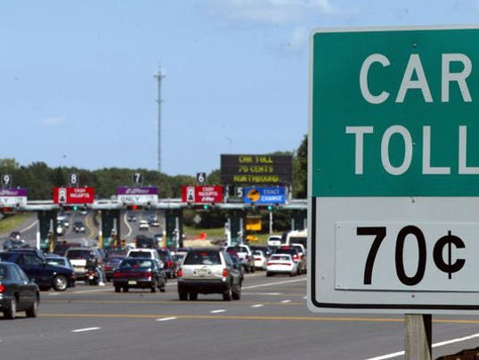 Ex toll taker sues over 39 god bless you 39 for Directions to garden state parkway south
