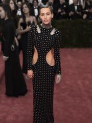 Miley Cyrus at the Met Gala.