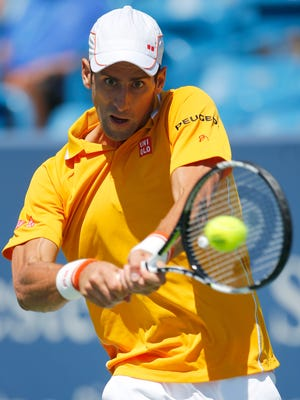 World No. 1 Novak Djokovic was nearly eliminated by qualifier Alexandr Dolgopolov, but the Serb rallied for a three-set Western & Southern Open semifinal victory Saturday afternoon in Mason. Djokovic has punched his ticket to a fifth final here.