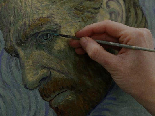 "Attention to detail is part of the process in the movie ""Loving Vincent."""