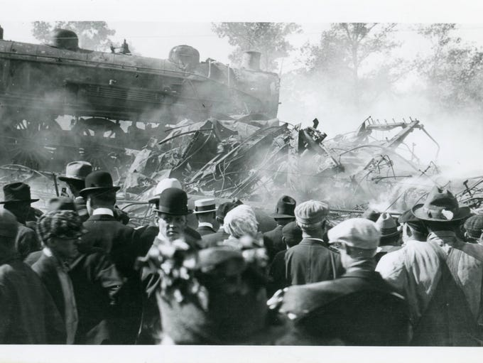 The Hagenbeck-Wallace Circus train wreck of June 22,