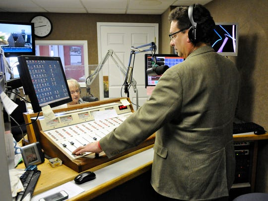 Randy Rothstein, business manager at KASM-AM/KDDG-FM in Albany, co-hosts the Afternoon Delight show Wednesday with Diane Haskamp. The Albany radio station group recently upgraded its transmitter and now broadcasts three HD Radio channels.