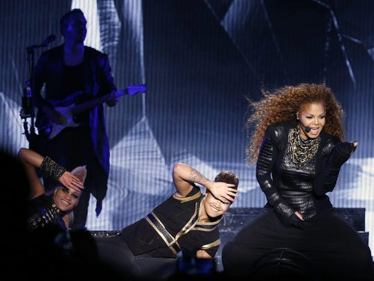 """Janet Jackson's latest album, 2015's """"Unbreakable,"""" debuted at No. 1 on the Billboard 200, making Jackson the third artist in history to earn No. 1 albums in four decades."""