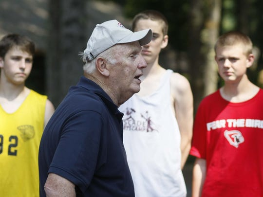 Longtime basketball coach Barry Adams has stayed busy with hoop camps and as a volunteer assistant coach for the men's basketball team at Portland State.