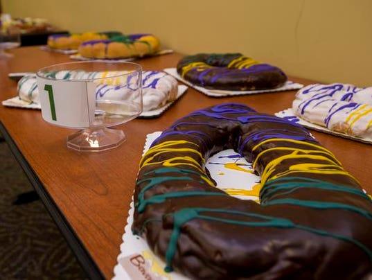 Chocolate Bavarian King Cake