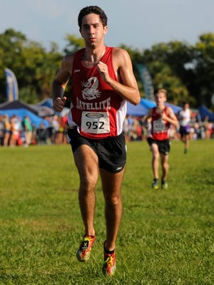 John Cacciatore of Satellite will hoping for a top-10 individual finish and a top-three team finish at state cross country Saturday in Tallahassee.