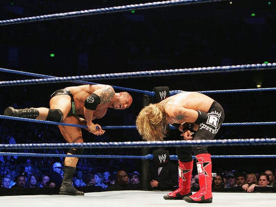 Batista climbs back into the ring against World Heavyweight