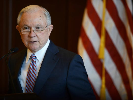U.S. Attorney General Jeff Sessions speaks on immigration