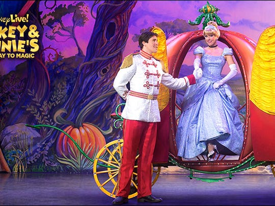 """""""Disney Live! Mickey & Minnie's Doorway To Magic"""" comes to the State Theatre in New Brunswick in November."""