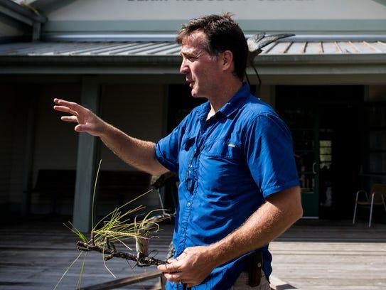Jason Lauritsen, Corkscrew Swamp Sanctuary director,