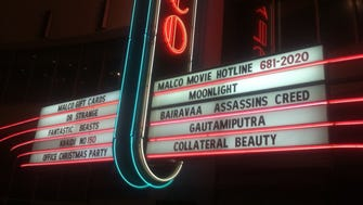On Jan. 17, before the theater closed for renovation, the indoor marquee of the Malco Wolfchase Galleria Cinema testified to the multiplex's odd mix of movies: a comedy, an art film, a drama, an action film, two blockbusters and three Indian films.