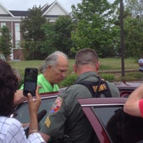 Keith Van de Castle was removed from H3O Friday afternoon and escorted off the property.
