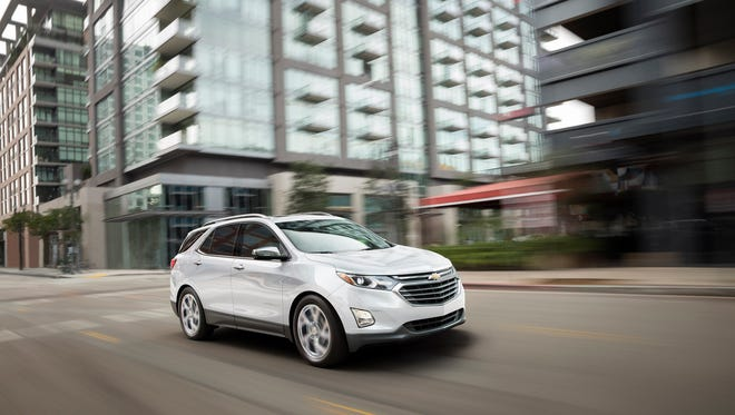 The 2018 Chevrolet Equinox offers an EPA-certified 39 mpg on the highway (FWD model) with the available 1.6L turbo-diesel engine, offering expected segment-topping highway fuel economy.