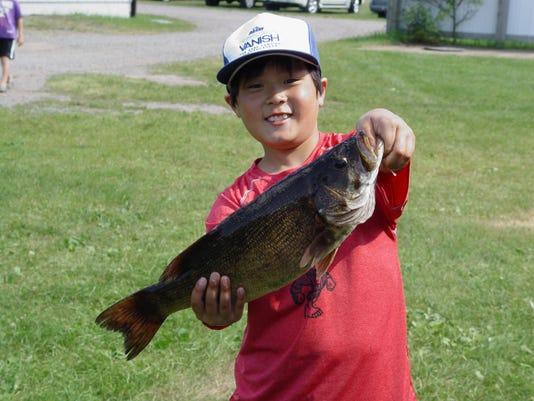 Brennan Ranheim - 19 and half inch Lg Mouth Bass