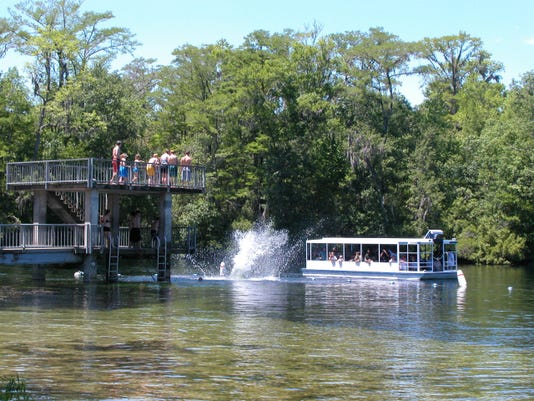 Wakulla diving tower