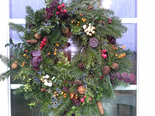 Make a holiday wreath and sip on wine during an event at Hudson-Chatham Winery in Tannersville Nov. 28.