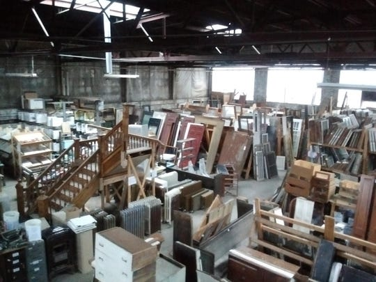 Historic Albany Parts Warehouse has a 10,000-square-foot space filled with salvaged materials from homes in the capital region.