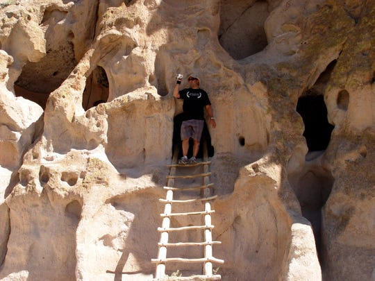 The 33,000-acre Bandelier National Monument is filled with petroglyphs, cliff dwellings and remnants of Pueblo peoples thousands of years ago.