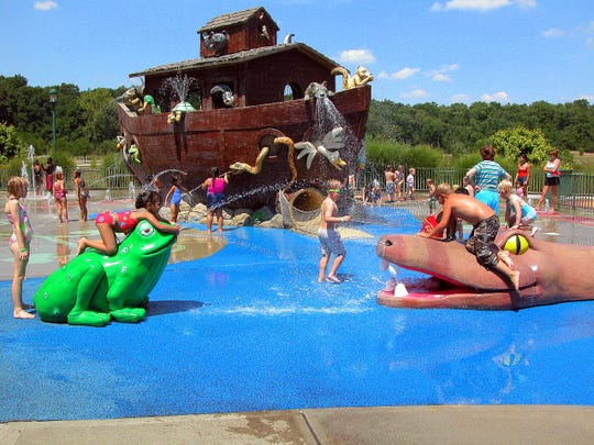 Great Parks of Hamilton County offers three wet playgrounds.