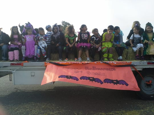 The students and staff of Stone Corral Elementary, in Seville, ushered in Halloween and the autumn season Oct. 31 with a parade and carnival.