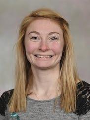 Emma Rapp, a graduate student at Missouri State University