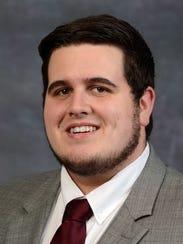 Caleb Doyle, student member of the Missouri State University's