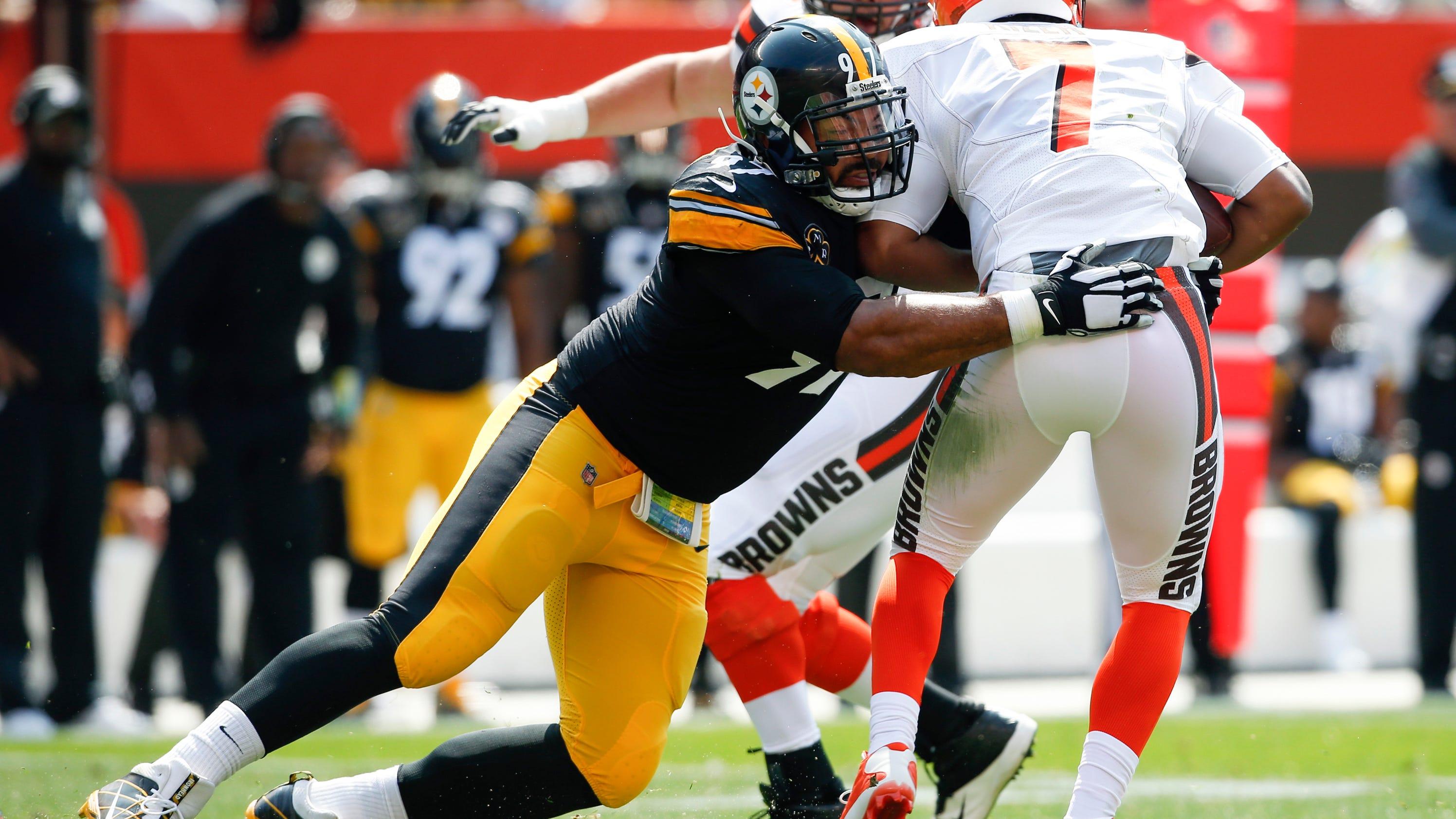 Steelers DE Cam Heyward in midst of breakout season