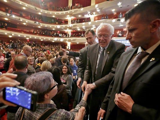 News: Bernie Sanders Town Hall Meeting