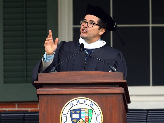 Drew University's 150th commencement featuring speakers,