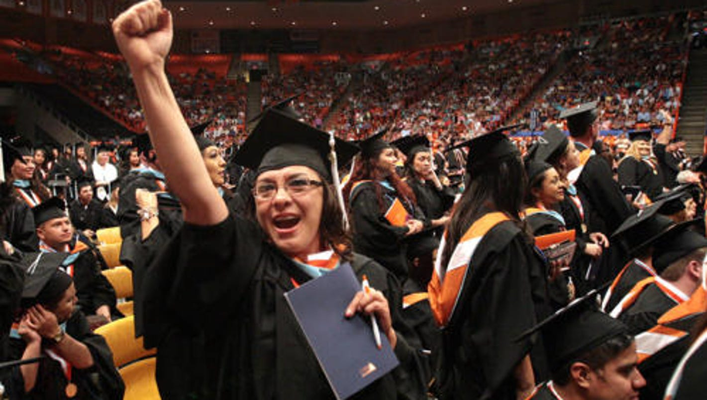 Graduations for universities, EPCC this weekend