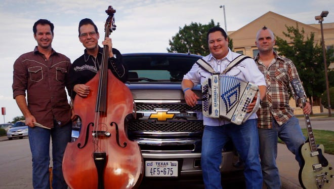Tex-Mex honky-tonkers The Tejas Brothers will be at The Iron Horse Pub.